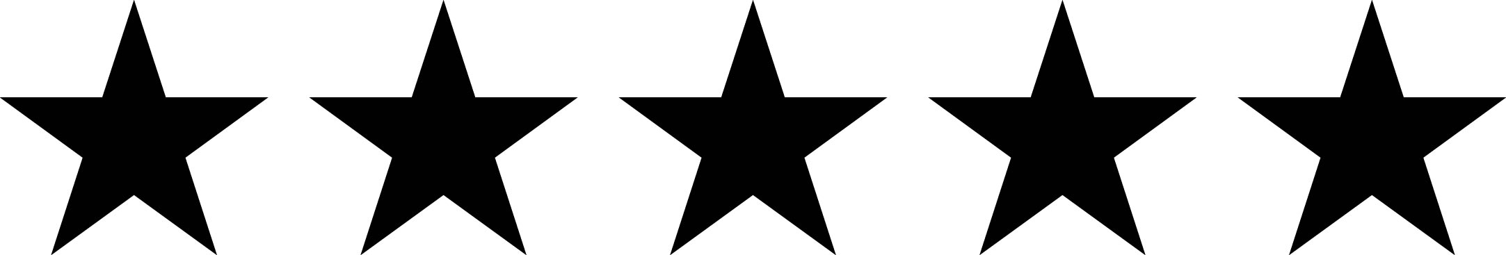 5 star image clipartsco