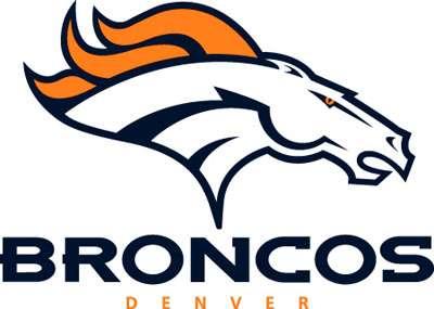 Broncos Logo Coloring Page Denver Broncos Logo Stencil