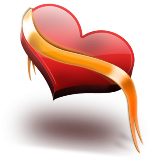Heart With Yellow Ribbon Icon, PNG ClipArt Image - ClipArt Best ...