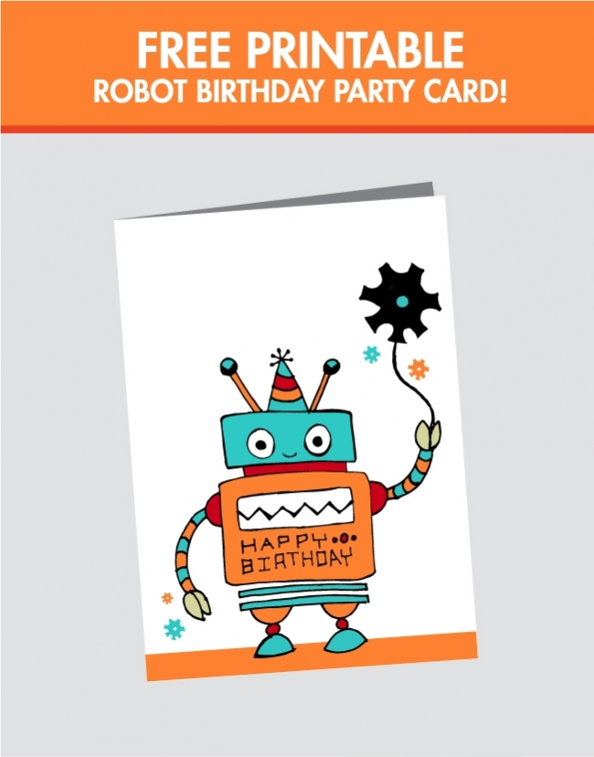 Critical image inside printable birthday cards for boys