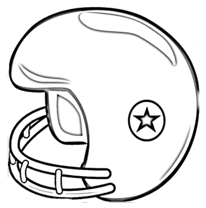 Football helmet drawings