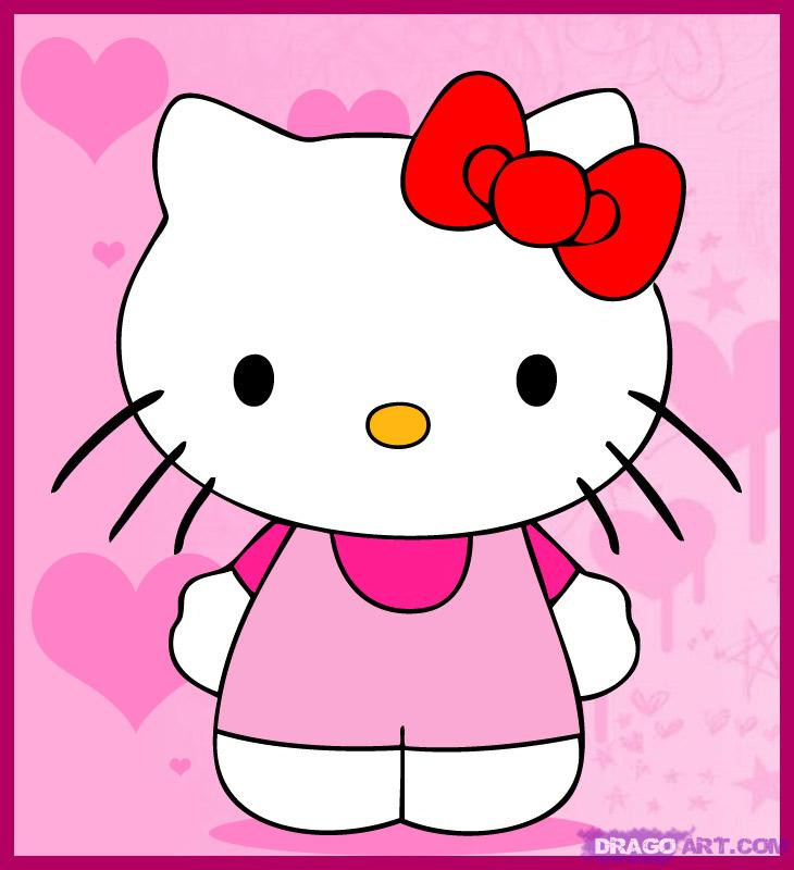 Pictxeer » Search Results » Draw Hello Kitty