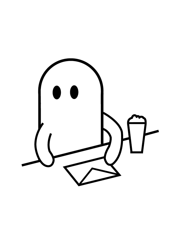 Ghost Drinker: May 2012
