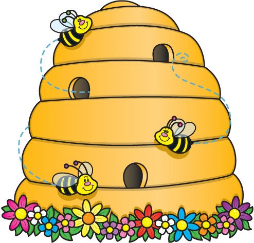 Beehive Clipart Black And White | Clipart Panda - Free Clipart Images