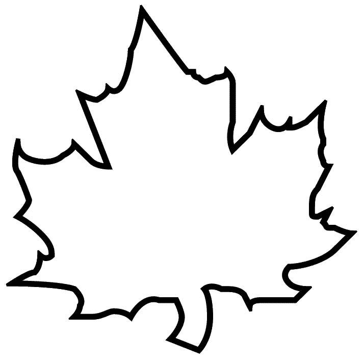 Maple Leaf Template Free Printable
