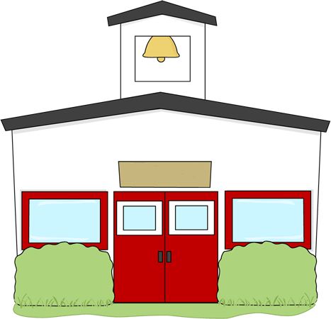 School Building Clip Art - School Building Image