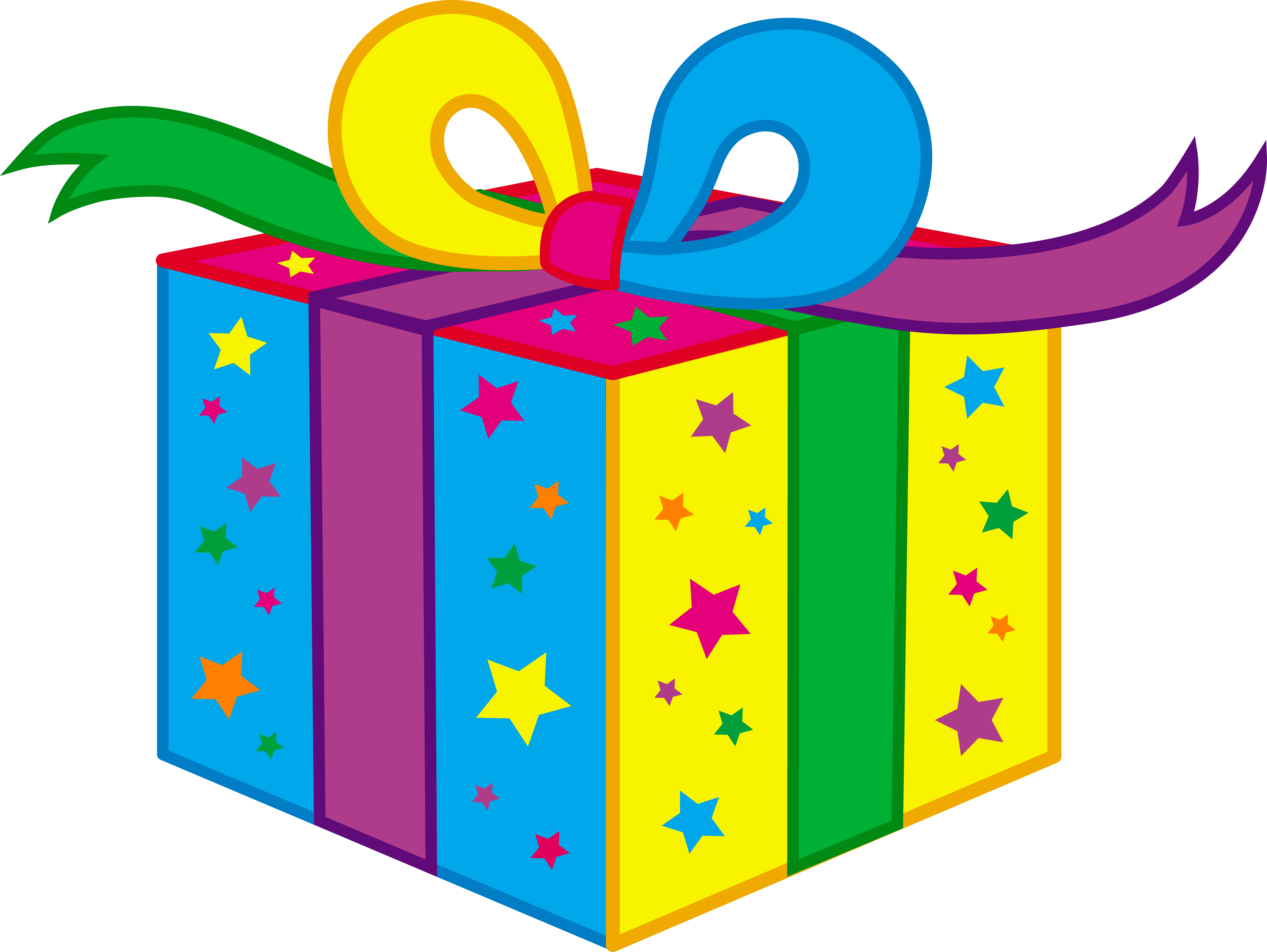 Kids Birthday Party Present - Free Clip Art
