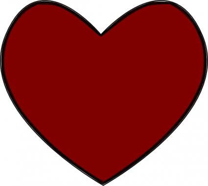 Red heart clip art Free vector for free download (about 138 files).