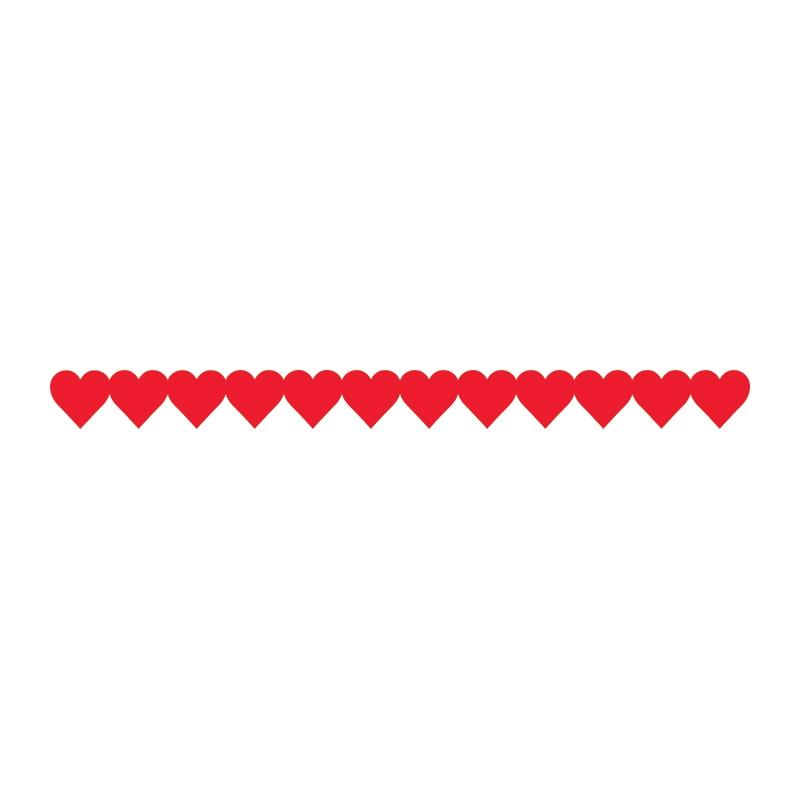 Heart Border For Word on Swirl Border Clip Art