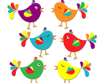 rainbow bird clipart rh worldartsme com clip art of birds flying clip art of birds black and white