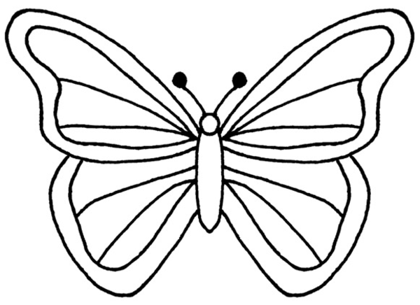 Butterfly Outline Clip Art - Cliparts.co