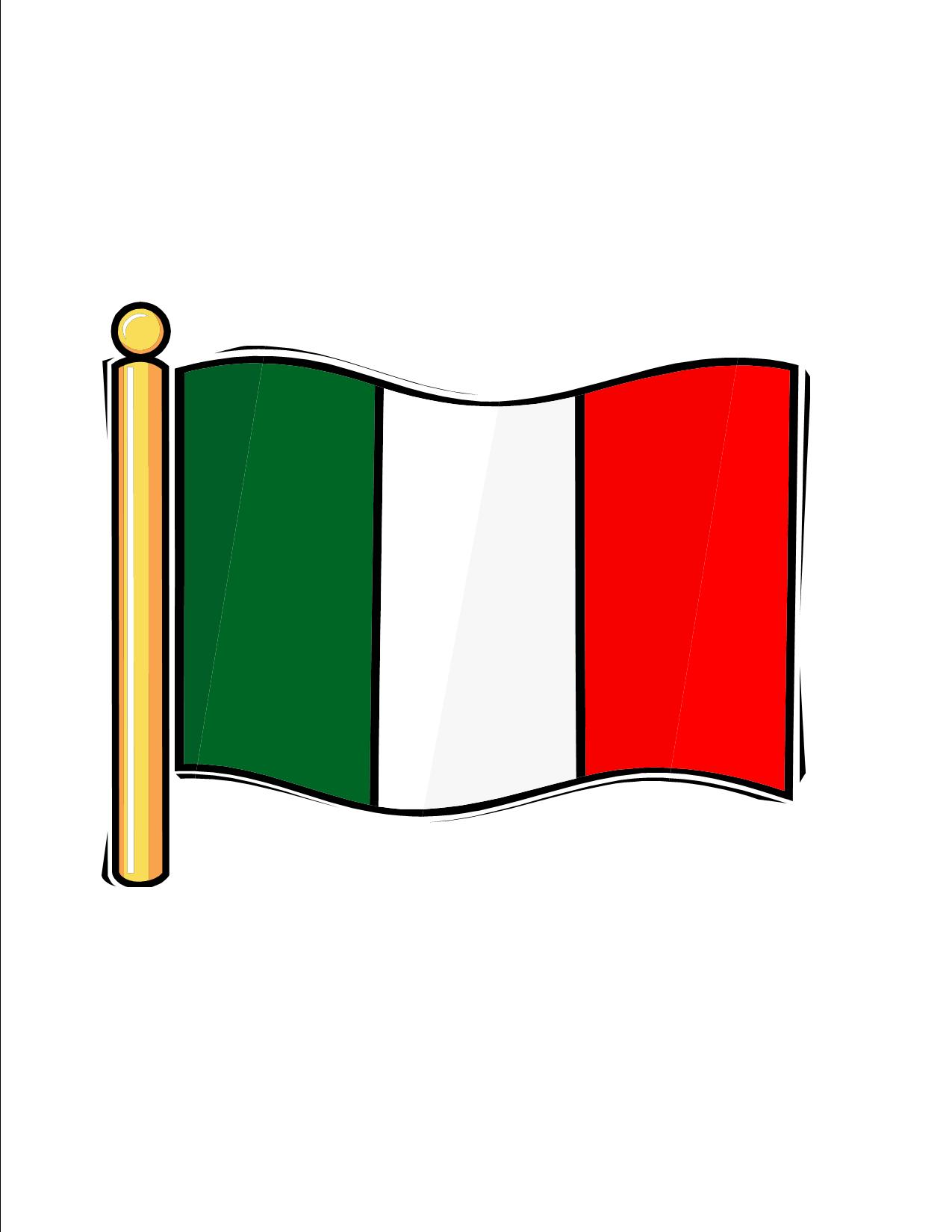 Italian Flag Images Free - ClipArt Best