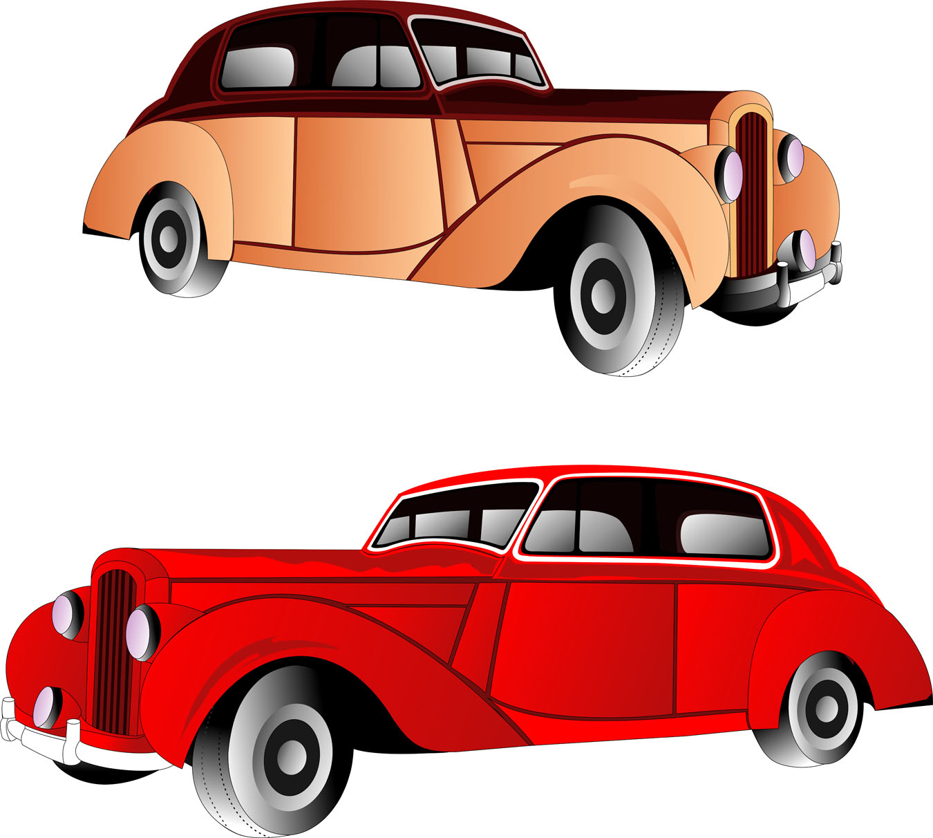 Classic Cars Clipart - Cliparts.co