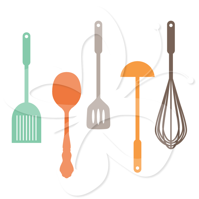 Pictures Of Kitchen Utensils - Cliparts.co