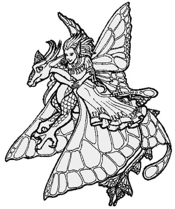 Gothic Fairy Coloring Pages | Shannon Cake | Pinterest | Fairy ... | 700x586