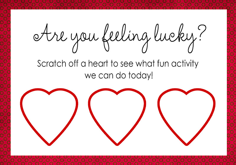 Printable Scratch Off Cards – Scratch off Valentine Card