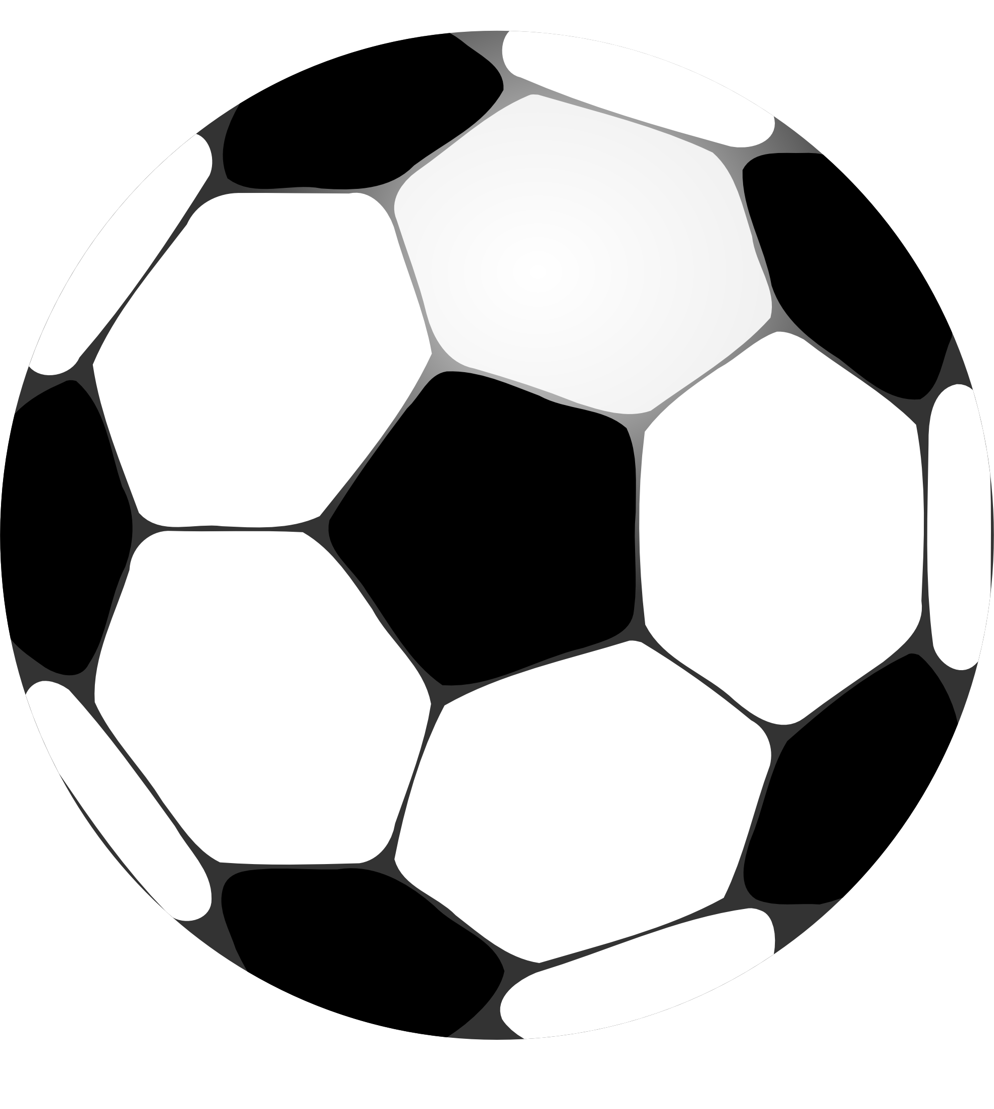 Soccer Ball Vector - Cliparts.co
