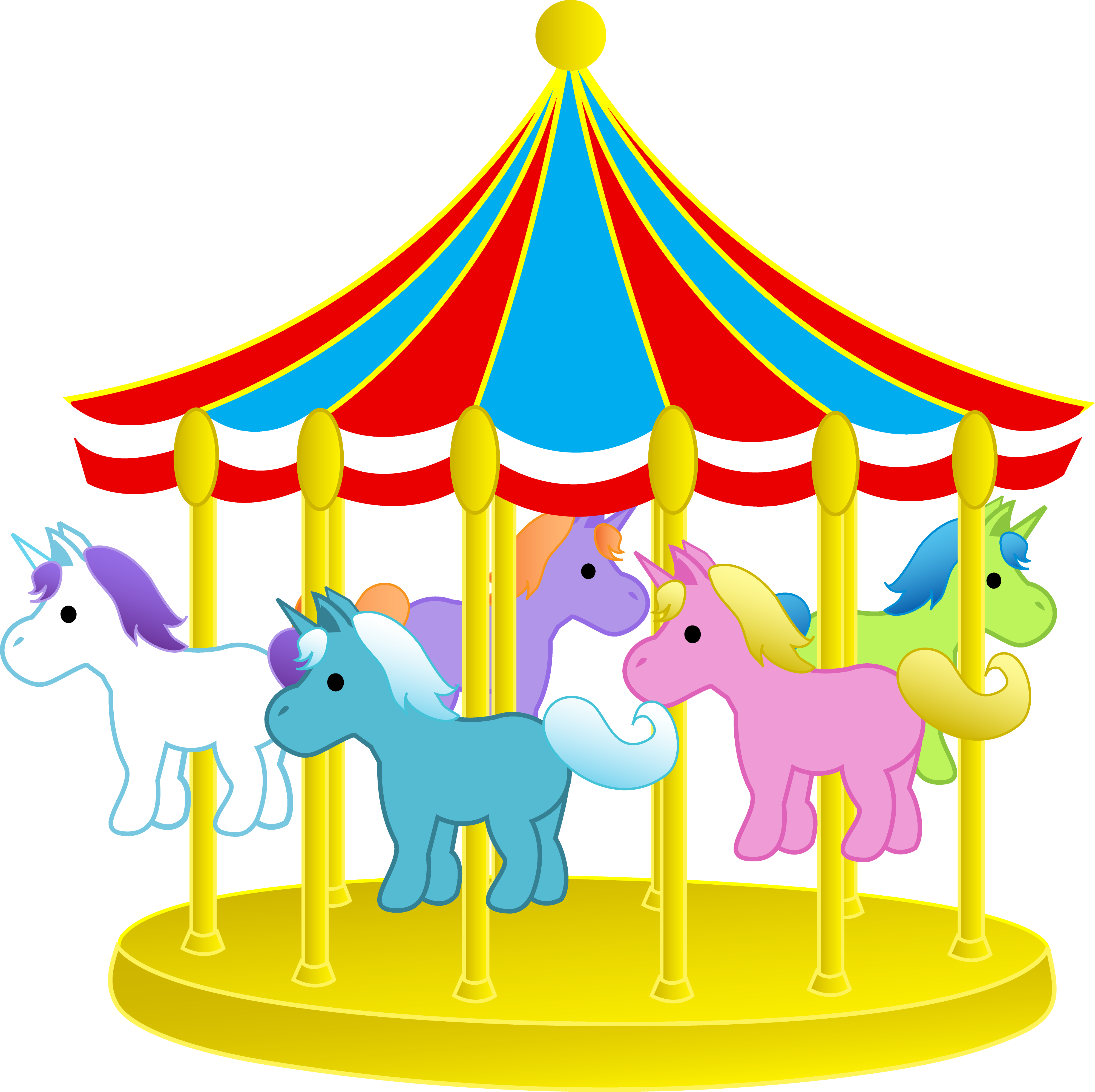 Carnival rides clip art - Clipart carnaval ...