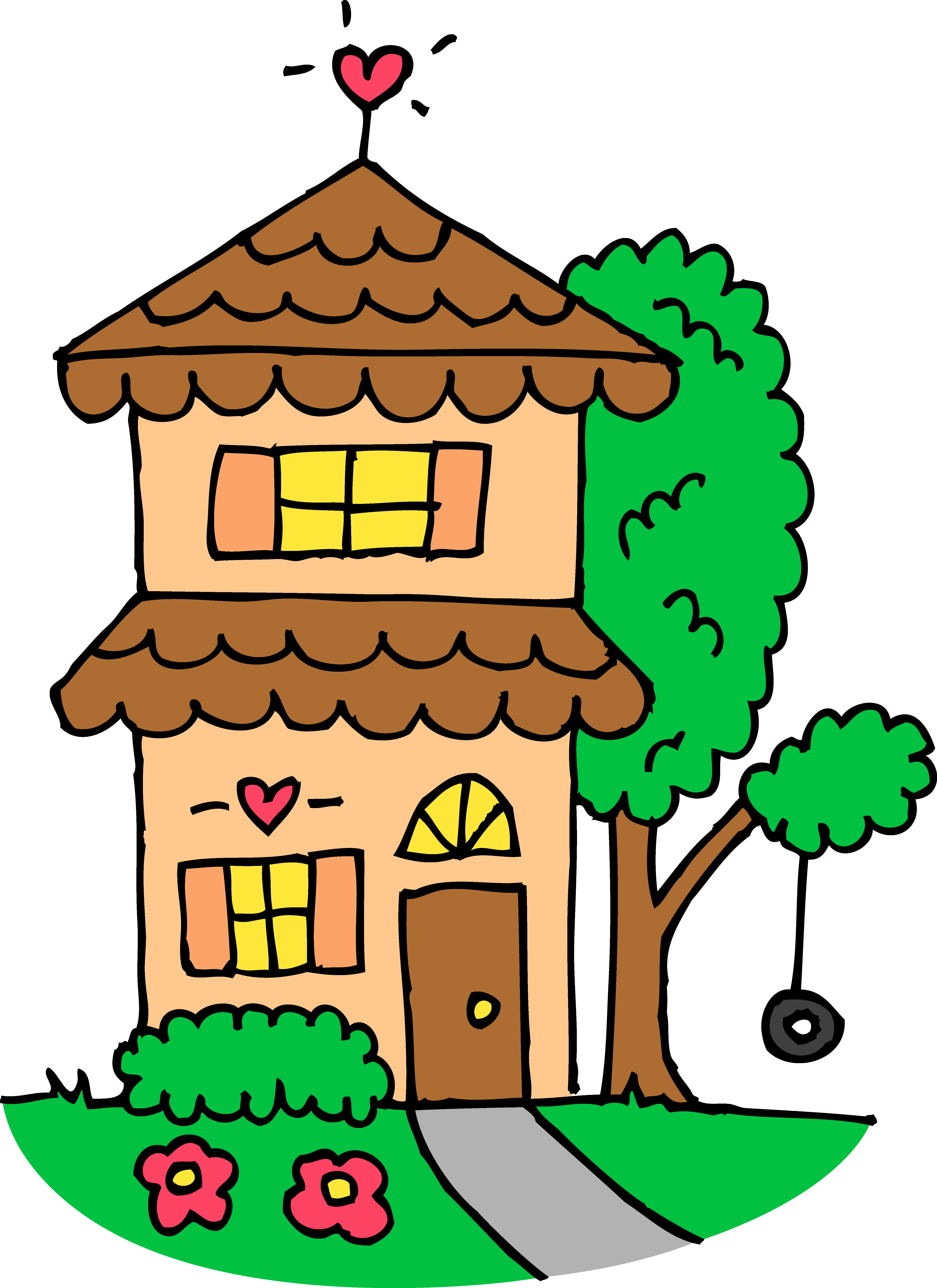 Free House Clipart - Cliparts.co