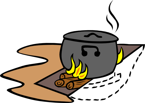Campfire Cooking Clipart | Clipart Panda - Free Clipart Images