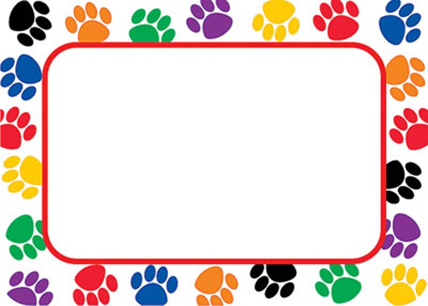 Picture Of Dog Paw Prints - Cliparts.co