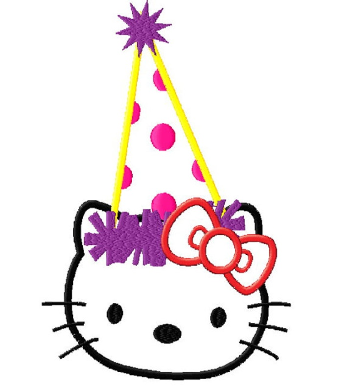 Happy Birthday Cat Clipart Free