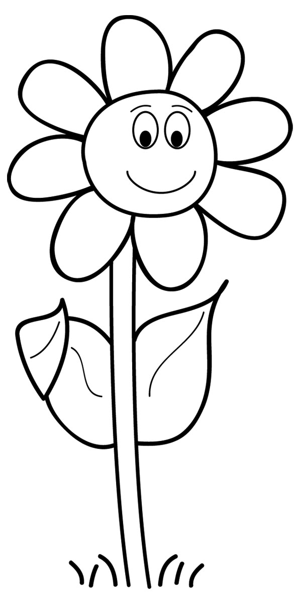 Black And White Flower Clip Art Images & Pictures - Becuo