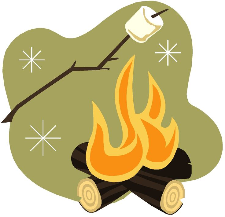 Camping Smores Clipart 1