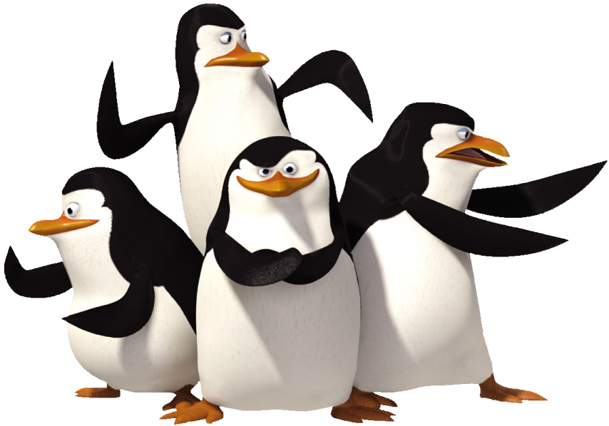 Pictures Of Animated Penguins