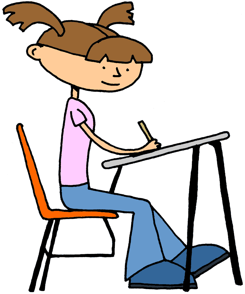 Gallery College Student Studying Clipart