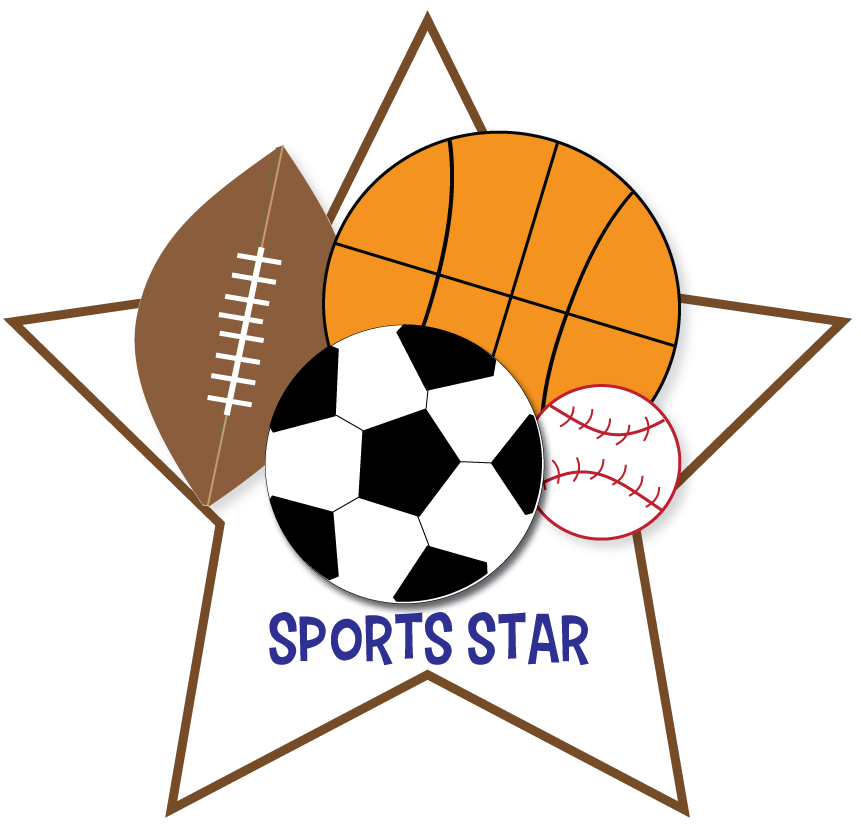 Free Sports Clipart for parties, crafts, school projects, websites ...