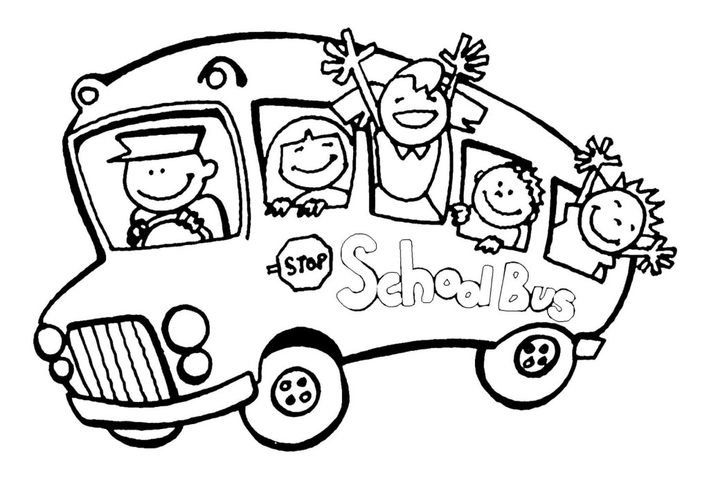 Magic School Bus Coloring Page - Cliparts.co