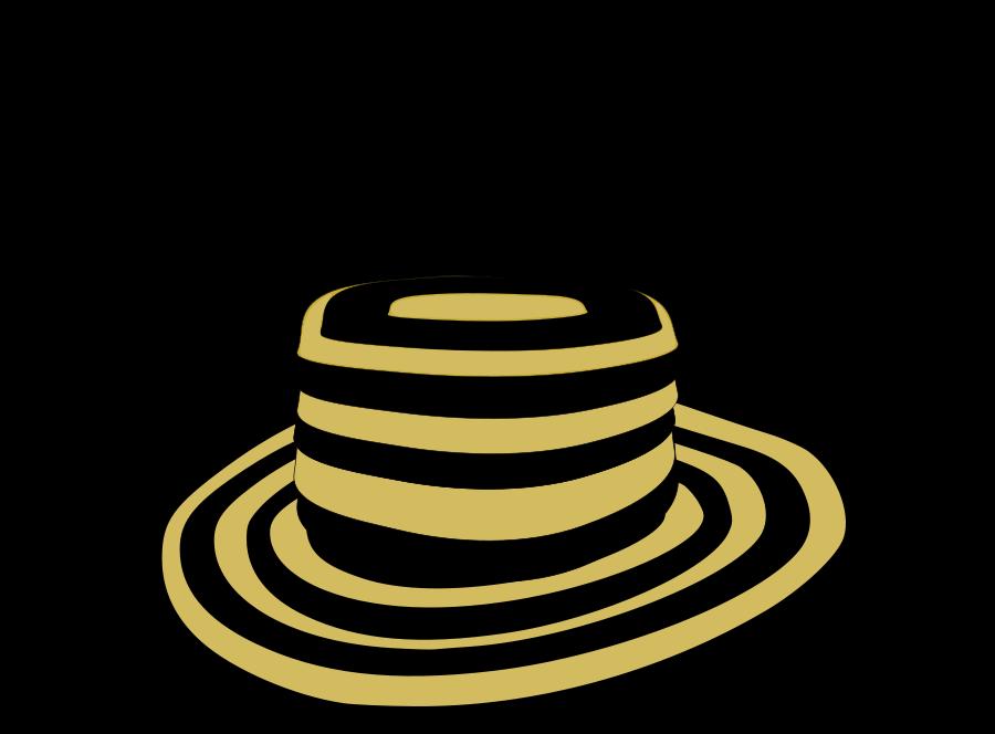 Sombrero Clip Art Black And White Sombrero Clipart  vector clip