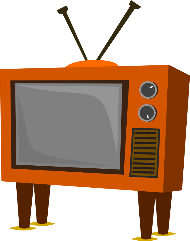 Free to Use & Public Domain Television Clip Art - Page 3