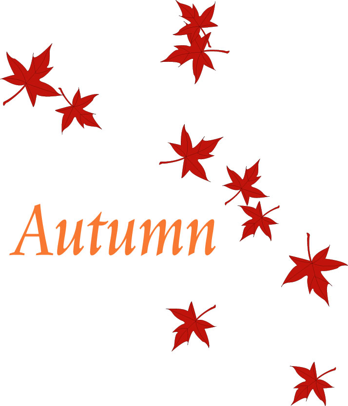 Good Evening Show!: Autumn acrostic poem