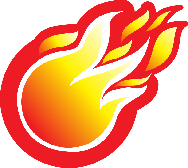 Red Flames Free Clipart
