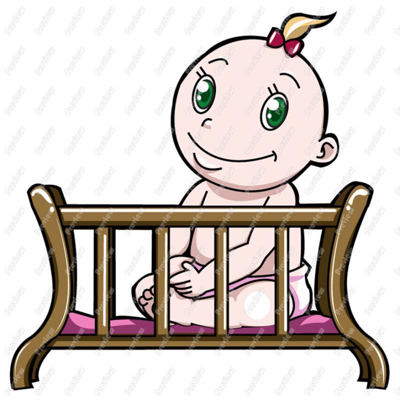 clipart baby cradle - photo #13