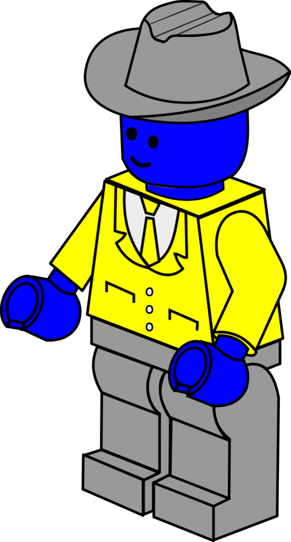 lego man vector - photo #16