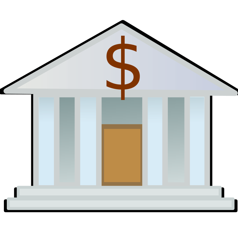 Free to Use & Public Domain Bank Clip Art
