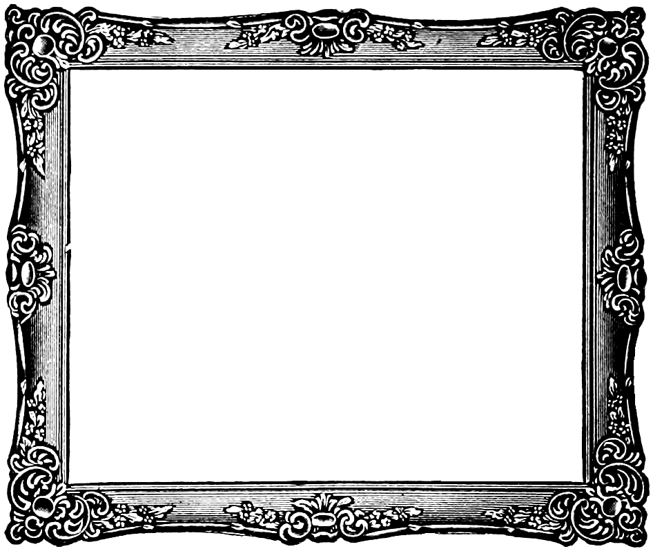 Free Vintage Frame Clip Art Image | Oh So Nifty Vintage Graphics