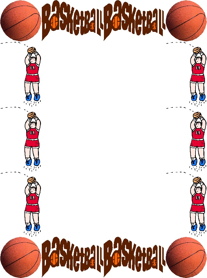 Basketball Border Page Hawaii Dermatology 703x942px Football Picture