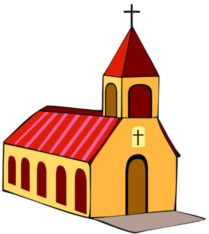 Church Clip Art Black And White