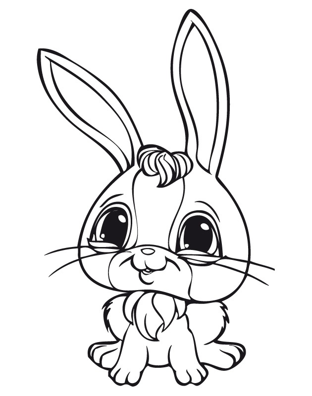 Series Littlest Pet Shop print picture 3 | Animal coloring pages ... | 800x630