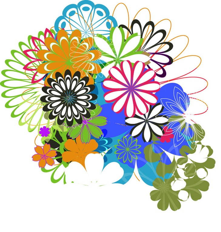 Scrapbook | Flower Vector