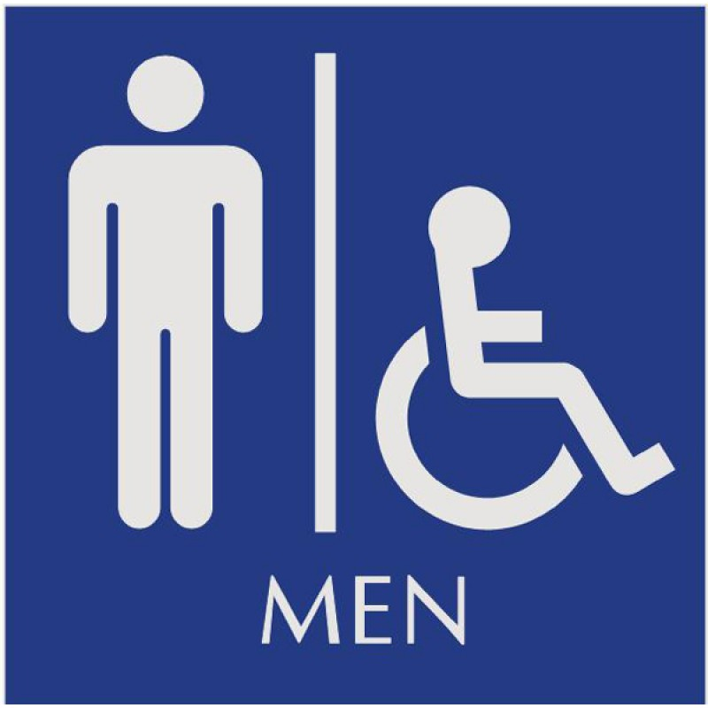 Disabled Signage. Printable Restroom Signs   Cliparts co