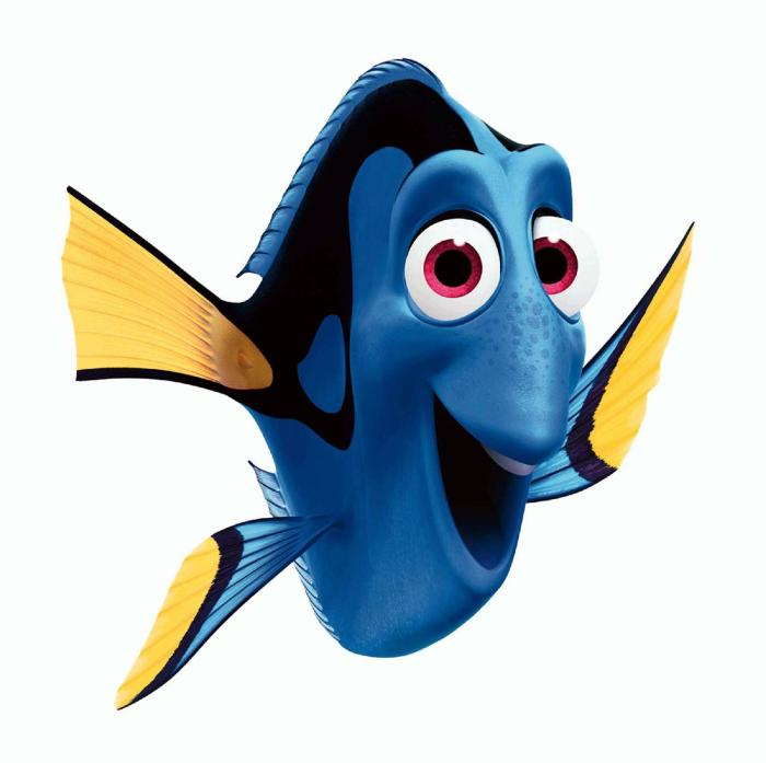 Animated pictures of fish for Immagini dory
