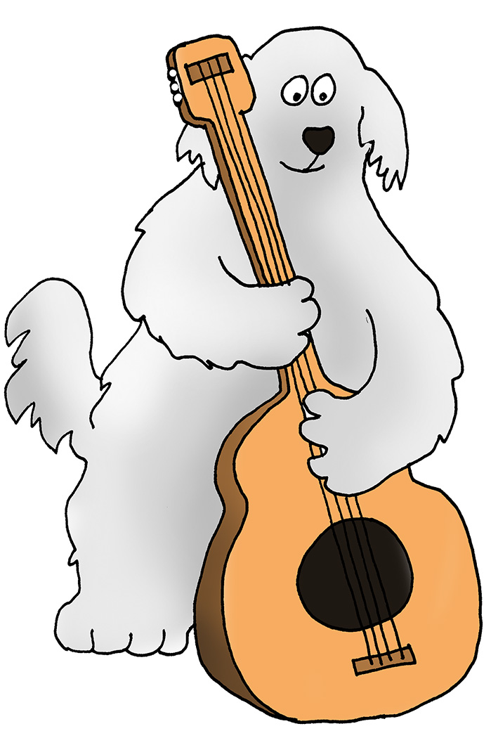 Dog Clip Art - Dog Cartoon Illustrations & Sketches