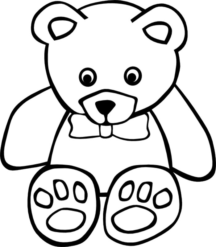 Cute Grizzly Bear Clipart