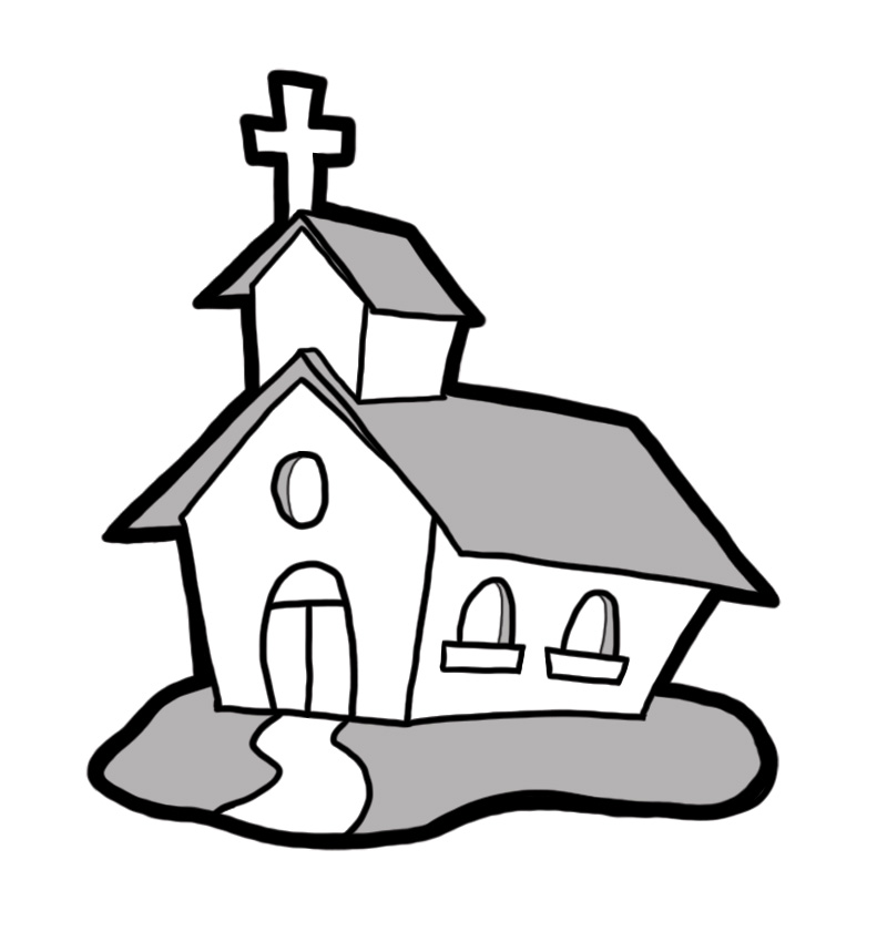 free animated church clip art - photo #32