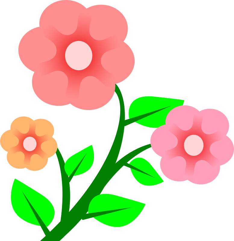 Clipart 3 Flowers | thinkcodelabs.net